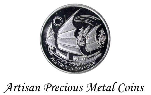Artisan Precious Metal Coins